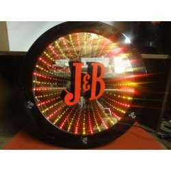 ENSEIGNE J&B  A LEDS DIAMETRE 50CM