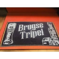 1 TAPIS DE BAR BRUGSE TRIPEL 50CM X24CM