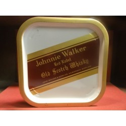1 PLATEAU JOHNNIE WALKER  32.50CM X32.50CM