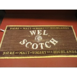 1 TAPIS DE BAR WEL SCOTCH 50X23