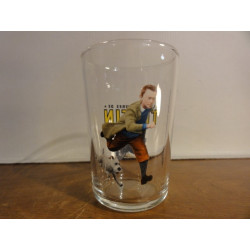 1 VERRE A MOUTARDE TINTIN