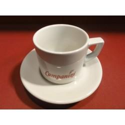 6 TASSES A CAFE CAMPANINI 22CL GRAND MODELE