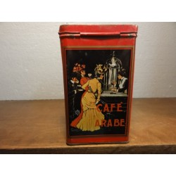 1 BOITE CAFE ARABE