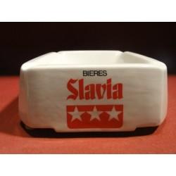 CENDRIER BIERES SLAVIA  16CM X16CM