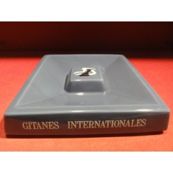 CENDRIER GITANES  INTERNATIONALES  21CM X21CM