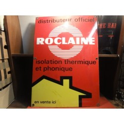 PLAQUE EMAILLEE ROCLAINE 70CM X50CM