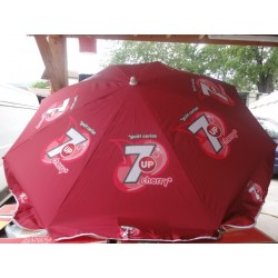 PARASOL 7UP CERISE INCLINABLE