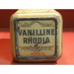 1 BOITE VANILLINE RHODIA  1KG