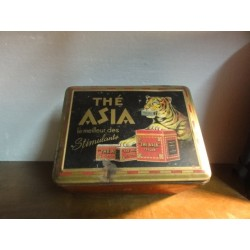 BOITE DE THE  ASIA  24CM X18CM X14CM