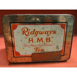 1 BOITE TEA RIDGWAYS 10.50CMX7.50CMX6.20CM