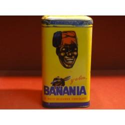 1 BOITE BANANIA  CAFE  HT 17CM