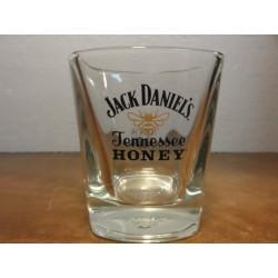 6VERRES JACK DANIEL'S HONEY  HT. 8.80CM