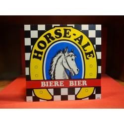 1 PLEXI GLASS HORSE-ALE 30CM X30CM