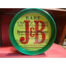 PLATEAU J&B  VERT DIAMETRE 32CM REBORD 4CM