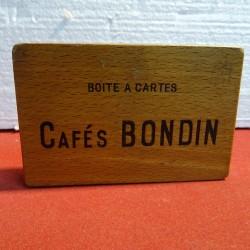 BOITE A CARTES CAFE  BONDIN