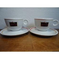 DEUX TASSES A CAFE JAMY 15CL