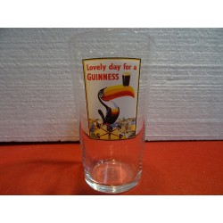 1 VERRE GUINNESS COLLECTOR 50CL HT.15CM