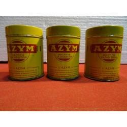 TROIS BOITES AZYM HT. 7.70CM
