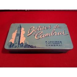 1 BOITE BETISES DE CAMBRAI 17.5X8.5X3.5