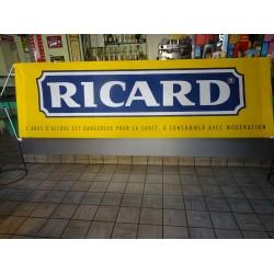 BANDEROLE RICARD EN FEUTRINE 2M60X0M80