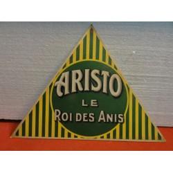 CARTON  ARISTO LE ROI DES ANIS  35CM X31 CM X31 CM