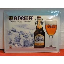 TOLE BIERE FLOREFFE 40CM X30CM