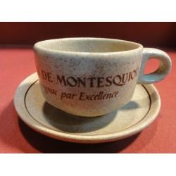 6 TASSES A CAFE  MARQUIS DE MONTESQUIOU