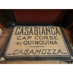 1 TAPÏS DE CARTES CASABIANCA  70CM X47CM