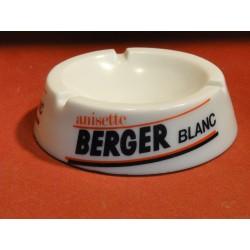 CENDRIER BERGER BLANC DIAMETRE 12.50CM