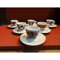 6 TASSES A CAFE ILLY