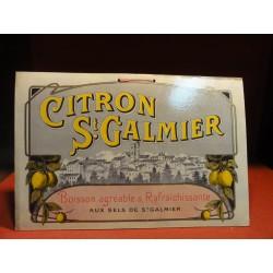CARTON CITRON ST GALMIER  36CM X24CM