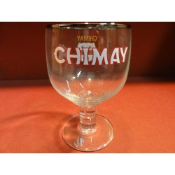 1 VERRE CHIMAY 33CL COLLECTOR  HT 14.70CM