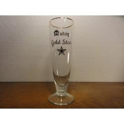 1 VERRE MUTZIG GOLD STAR 25CL