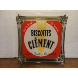 RAMASSE-MONNAIE  BISCOTTES CLEMENT  19.50CM X17.50CM