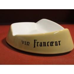 CENDRIER  VIN FRANCOEUR  20X20X20