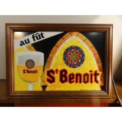 ENSEIGNE BIERE  ST BENOIT