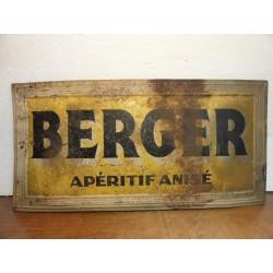 TOLE LITHO BERGER 39CM X19CM