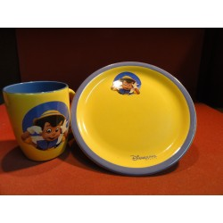 ENSEMBLE  DISNEYLAND  2 PIECES  PINOCCHIO