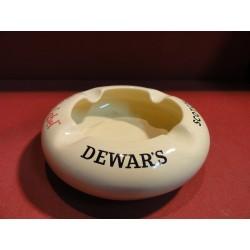 CENDRIER DEWAR'S JAUNE  DIAMETRE 17.50CM
