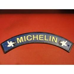 UNE PLAQUE MICHELIN EN FONTE  40CM X7 CM
