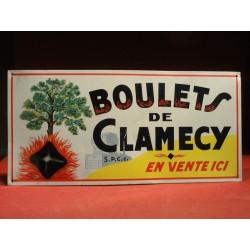 TOLE  BOULETS DE CLAMECY 46CM X22CM