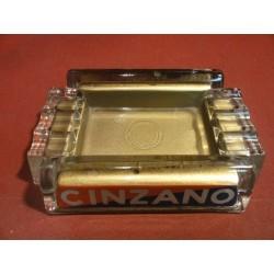 CENDRIER CINZANO 14.50CMX10.50CM