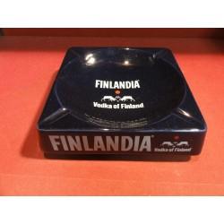 CENDRIER  FINLANDIA  VODKA  18CM X18CM