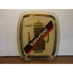 RAMASSE-MONNAIE CAFE  SAN-RIVO 21CM X18CM