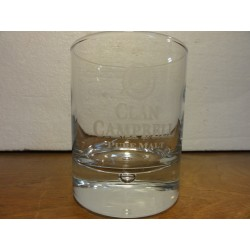 1 VERRE CLAN CAMPBELL HT 9CM