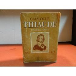 CATALOGUE  THIAUDE  TIMBRES...
