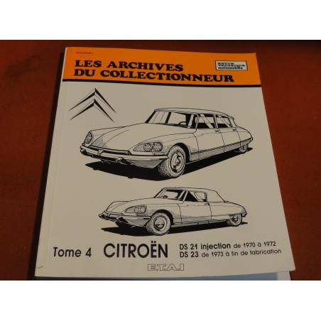 1 REVUE TECHNIQUE AUTOMOBILE CITROEN TOM 4