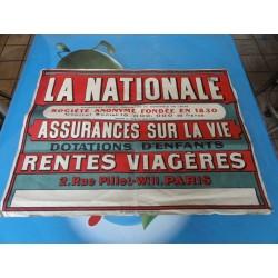 AFFICHE LA NATIONALE  57CM...