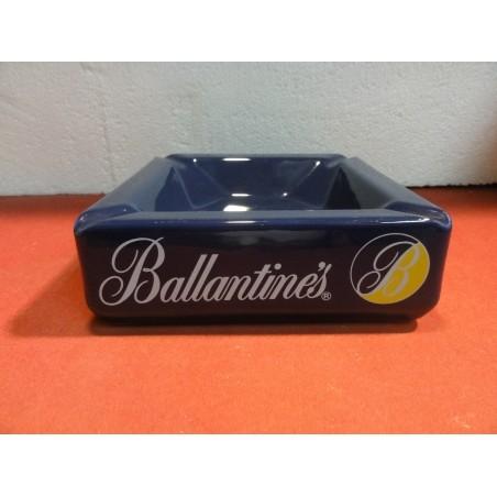 CENDRIER BALLANTINES  17CM X17CM