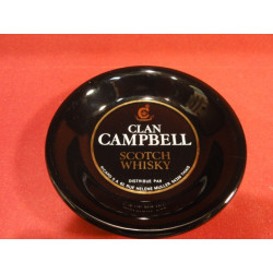 1 CENDRIER WHISKY CLAN CAMPBELL